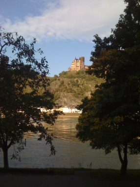 Castle in St. Goar Rhineland