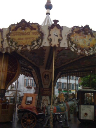 Evert town seemed to have a carousel