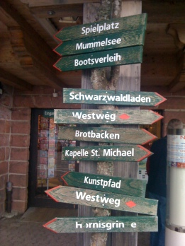 Which way to the Schnitzel place?