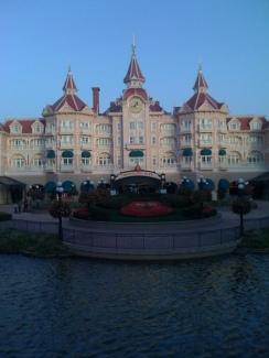 The Disneyland Hotel and Main Gate