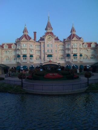 The Disneyland Hotel and Main Gate