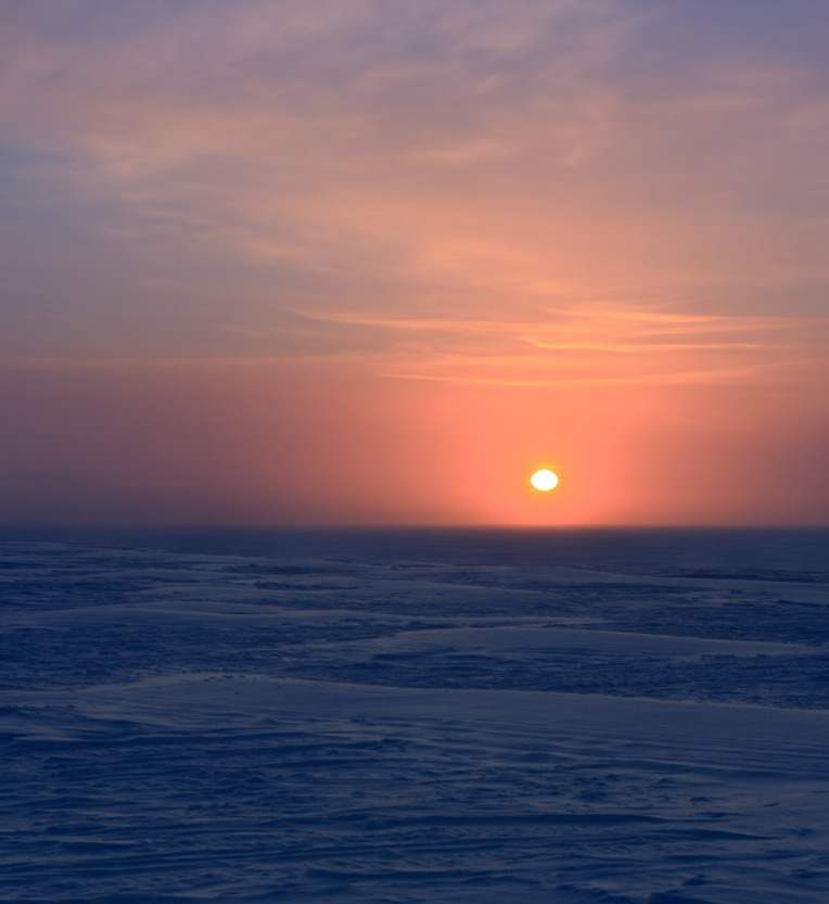 Sunset on Great Slave Lake
