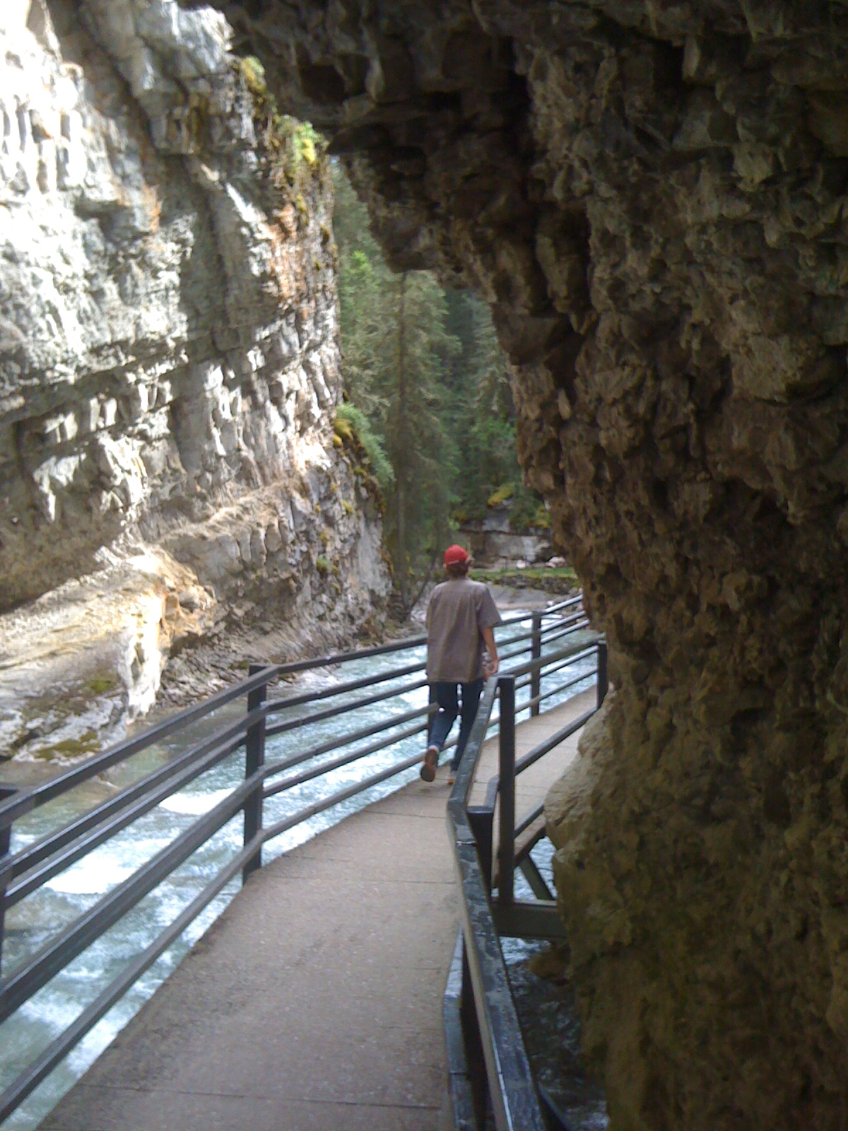 Johnston's Canyon - all paths deserve to be walked on
