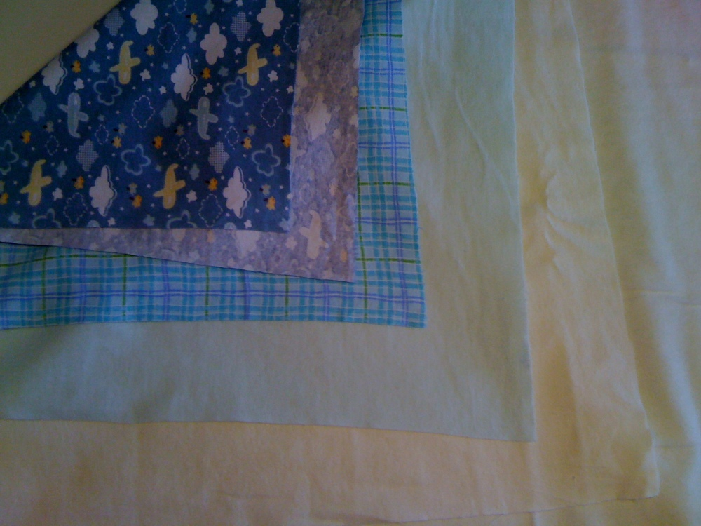 Step by Step Chenille Baby Quilt (3/6)