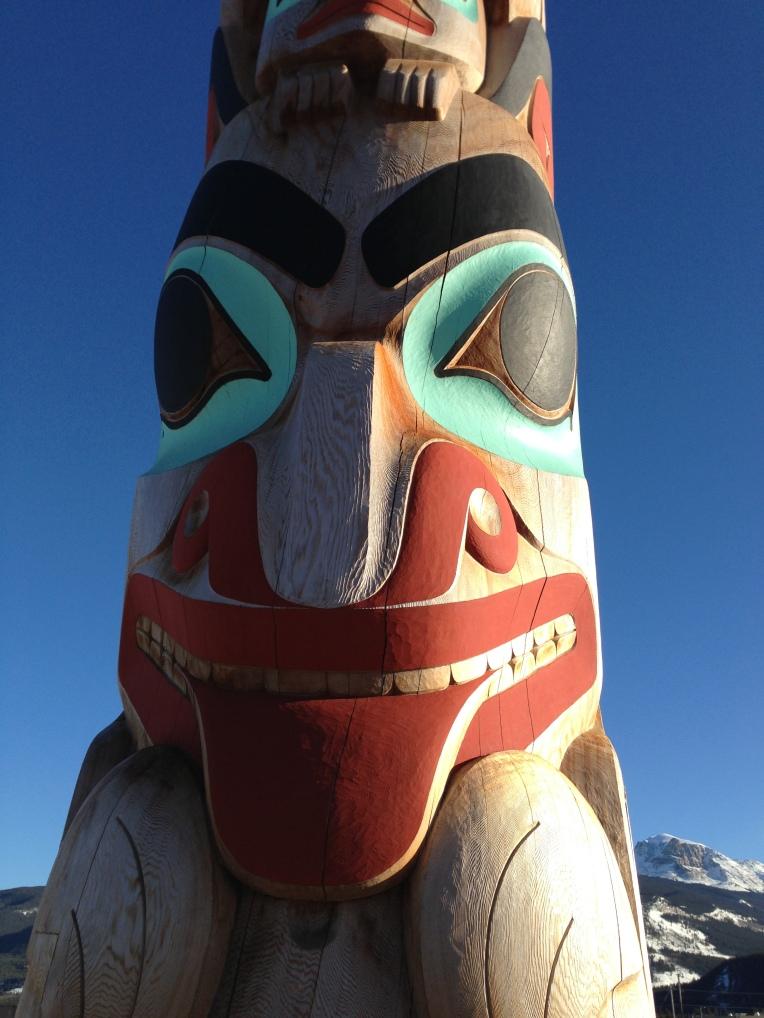 Haida Totem Pole, Jasper AB