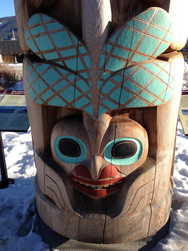 Haida Totem Pole Jasper, Alberta