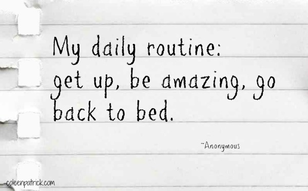 routine-be-amazing