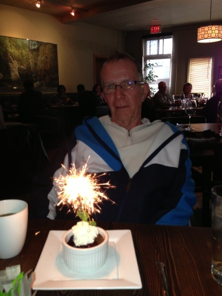 Dadeo at Open Range for his 65th birthday