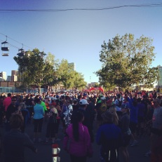 The Start Line at Calgary