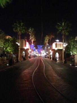 Hollywood Blvd after closing