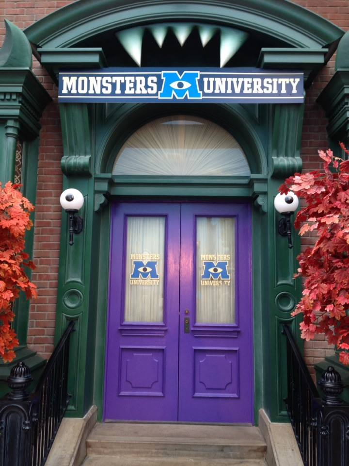 Back to school with the Monsters!