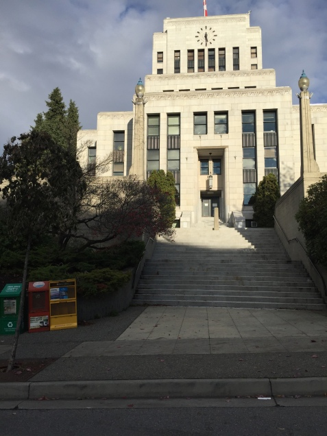 Central City's Police Station or Vancouver's City Hall