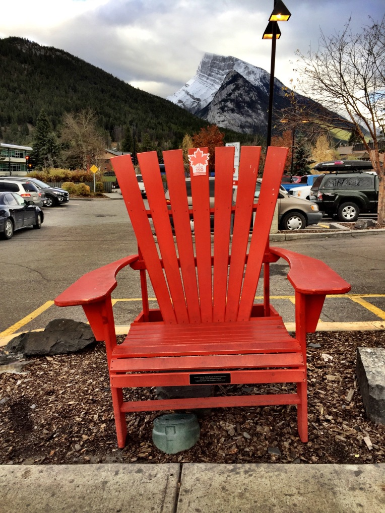 the red chair project musings of the edmonton tourist